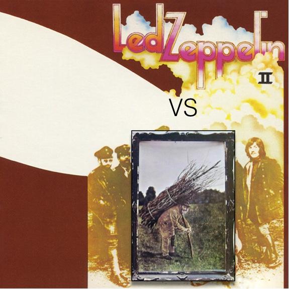 VINYL Cage Match - Led Zeppelin