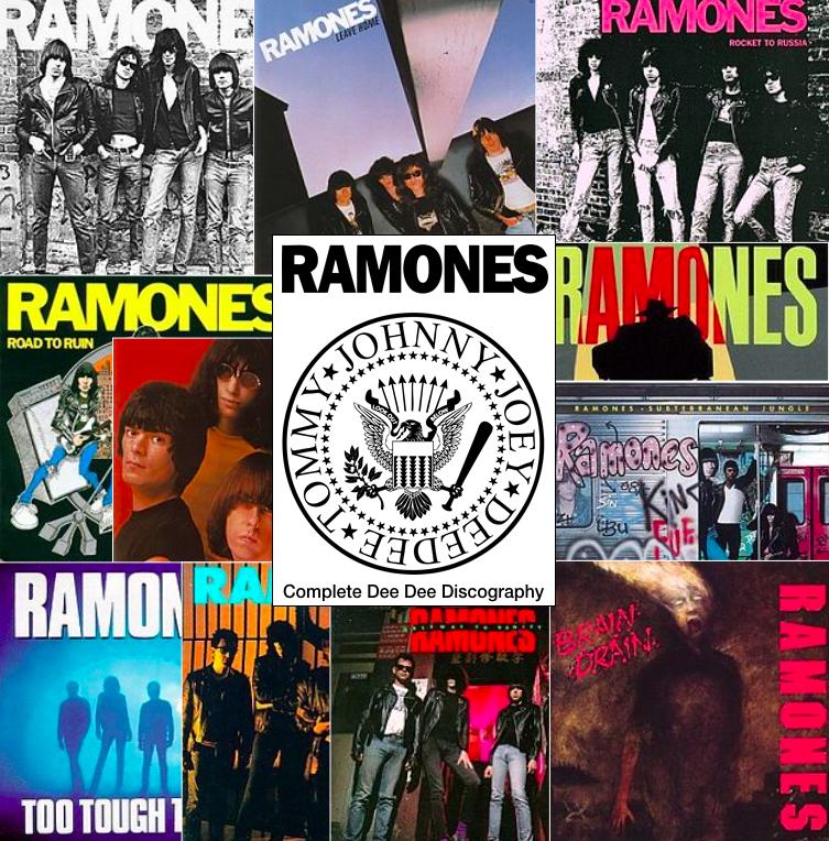 EP100 Ramones Art
